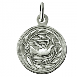 Médaille Colombe Lauriers (argent)